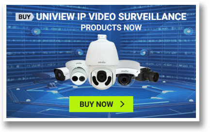 Uniview IP Video Surveillance For Sale